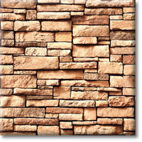 Small photo of Drystack Ledgestone-Caramel